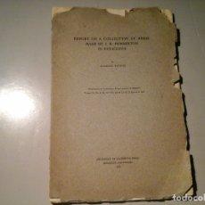Libros antiguos: ALEXANDER WETMORE...COLLECTION OF BIRDS MADE BY R. PEMBERTON IN PATAGONIA. ORNITOLOGÍA. RARO.. Lote 119149855