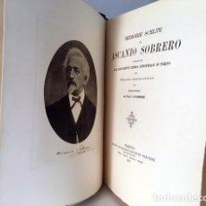 Libros antiguos: MEMORIE SCELTE DI ASCANIO SOBRERO. (1914) (DISCORSO STORICO-CRITICO... (QUÍMICA. ITALIA) . Lote 120081179