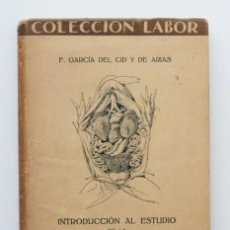 """Libros antiguos: """"INTRODUCCIÓN AL ESTUDIO DE LA ZOOLOGÍA. (ED. LABOR, COL. BIBLIOTECA DE INICIACIÓN CULTURAL, 170)"""" -. Lote 120185050"""