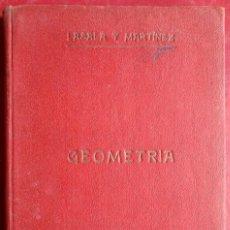 Libros antiguos: ATANASIO LASALA Y MARTÍNEZ . ELEMENTOS DE MATEMÁTICAS. GEOMETRÍA. Lote 120425871