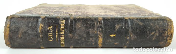 TRATADO DE HISTORIA NATURAL. TOMO 1. FELIZ GILA Y FIDALGO. ZARAGOZA. 1899. (Libros Antiguos, Raros y Curiosos - Ciencias, Manuales y Oficios - Paleontología y Geología)
