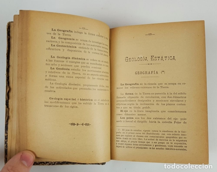 Libros antiguos: TRATADO DE HISTORIA NATURAL. TOMO 1. FELIZ GILA Y FIDALGO. ZARAGOZA. 1899. - Foto 3 - 121027239