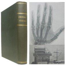 Libros antiguos: 1936 - CIENCIAS FÍSICAS - ILUSTRADO CON 350 GRABADOS - ENERGÍA, MATERIA, MECÁNICA, OPTICA, ACÚSTICA. Lote 152039114