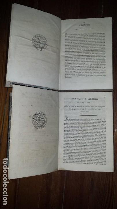 Libros antiguos: Aritmética Universal Pura Testamentária Eclesiástica y Comercial. Diego Narciso. 1818. Tomos I y II - Foto 3 - 121348563