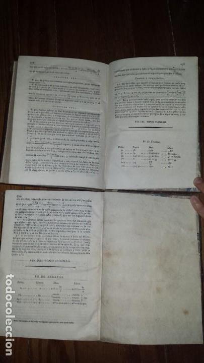 Libros antiguos: Aritmética Universal Pura Testamentária Eclesiástica y Comercial. Diego Narciso. 1818. Tomos I y II - Foto 5 - 121348563