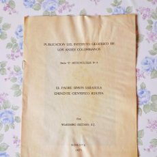 Libros antiguos: 1971 METEREOLOGÍA PADRE SIMON SARASOLA WLADIMIRO ESCOBAR GEOFÍSICA. Lote 121519679