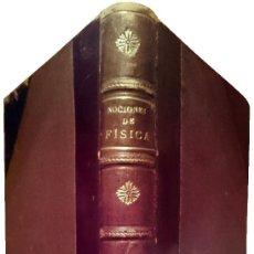 Libros antiguos: NOCIONES DE FÍSICA : GRADO MEDIO. COMPAÑÍA TELEFÓNICA NACIONAL DE ESPAÑA, S.A. ENC. EN MEDIA PIEL. Lote 121562791