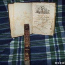Libros antiguos: TRATADO ELEMENTAL DE MATEMÁTICAS .D. JOSÉ MARIANO VALLEJO. DOS TOMOS . 1817-1841. UNA JOYA!!!!. Lote 121823439