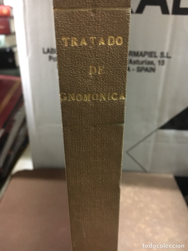 Libros antiguos: Tratado de gnomonica - Foto 2 - 121969027
