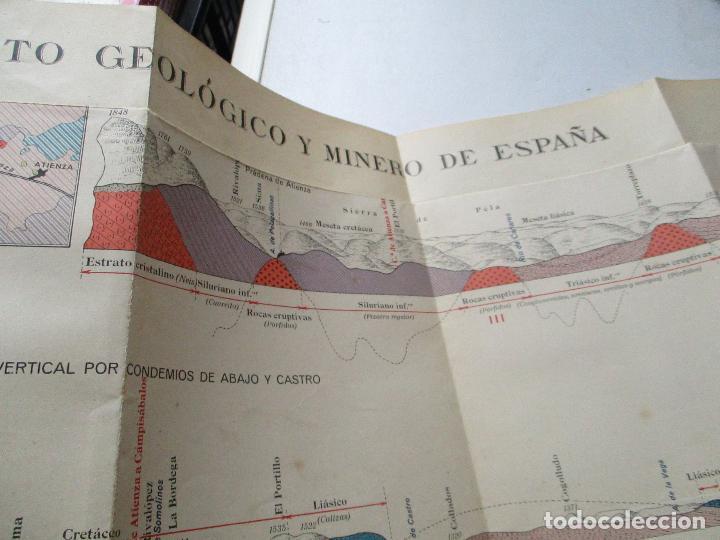Libros antiguos: INSTITUTO GEOLÓGICO Y MINERO DE ESPAÑA-MAPA GEOLÓGICO MEMORIA EXPLICATIVA DE LA HOJA Nº 433-ATIENZA- - Foto 6 - 122000743