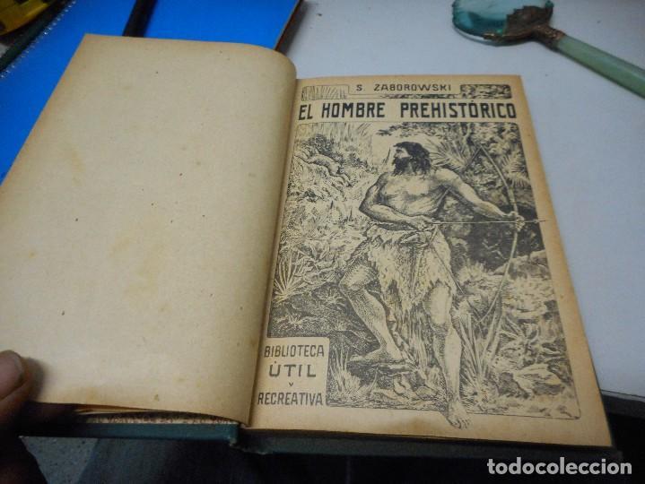 Libros antiguos: el hombre prehistorico por zaborowski antiguo sin fecha - Foto 2 - 122294875