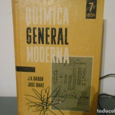 Libros antiguos: QUIMICA GENERAL MODERNA. Lote 122730115
