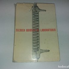 Libros antiguos: ANTIGUO LIBRO AÑO 1964 FÍSICA QUÍMICA DE LABORATORIO. Lote 122921695