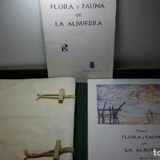 Libros antiguos: FLORA Y FAUNA DE LA ALBUFERA JOSE SAN FRANCISCO. Lote 123337343