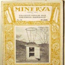 Libros antiguos: MINERVA. VOL. XL. INTRODUCCIONS METEOROLÒGIQUES - BARCELONA 1923. Lote 123570016