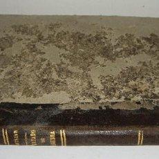 Libros antiguos: TRATADO DE ÁLGEBRA ELEMENTAL. D.J CORTAZAR. MADRID - 1881. Lote 124125579