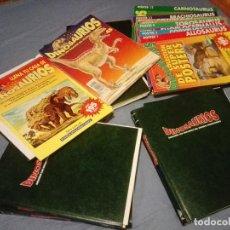 Libros antiguos: DINOSAURIOS FASCICULOS 11 AL 34 DESCUBRE LOS GIGANTES DEL MUNDO PREHISTORICO.. Lote 124155671
