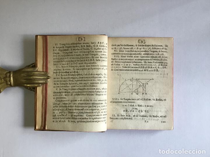 Alte Bücher: TRIGONOMETRIA: HOC EST, MODUS COMPUTANDI TRIANGULORUM Latera & Angulos, ex Canone Mathematico tradit - Foto 5 - 109022611