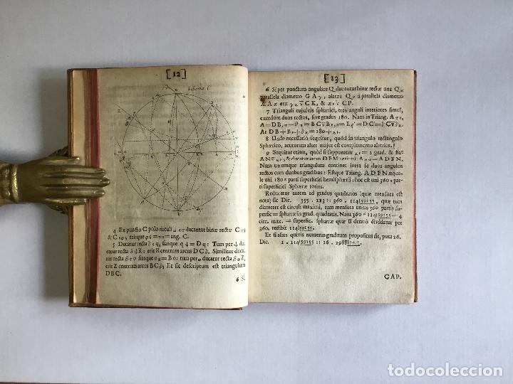 Alte Bücher: TRIGONOMETRIA: HOC EST, MODUS COMPUTANDI TRIANGULORUM Latera & Angulos, ex Canone Mathematico tradit - Foto 6 - 109022611