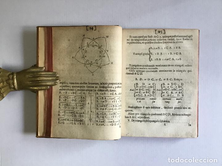Alte Bücher: TRIGONOMETRIA: HOC EST, MODUS COMPUTANDI TRIANGULORUM Latera & Angulos, ex Canone Mathematico tradit - Foto 8 - 109022611