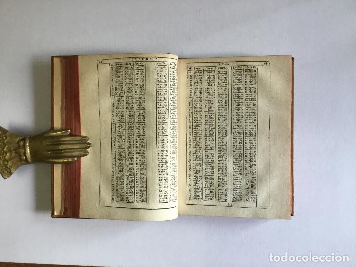 Alte Bücher: TRIGONOMETRIA: HOC EST, MODUS COMPUTANDI TRIANGULORUM Latera & Angulos, ex Canone Mathematico tradit - Foto 9 - 109022611
