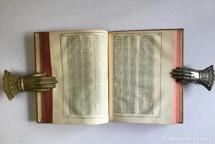 Alte Bücher: TRIGONOMETRIA: HOC EST, MODUS COMPUTANDI TRIANGULORUM Latera & Angulos, ex Canone Mathematico tradit - Foto 10 - 109022611