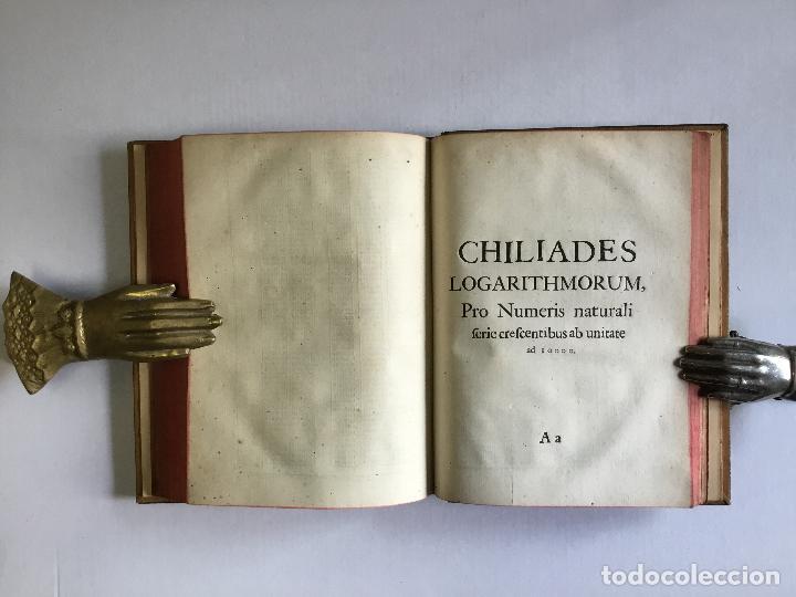 Alte Bücher: TRIGONOMETRIA: HOC EST, MODUS COMPUTANDI TRIANGULORUM Latera & Angulos, ex Canone Mathematico tradit - Foto 11 - 109022611