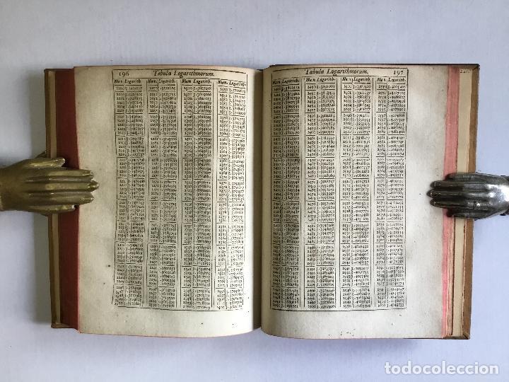 Alte Bücher: TRIGONOMETRIA: HOC EST, MODUS COMPUTANDI TRIANGULORUM Latera & Angulos, ex Canone Mathematico tradit - Foto 13 - 109022611