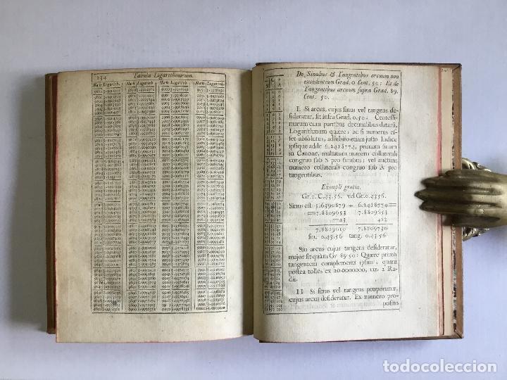 Alte Bücher: TRIGONOMETRIA: HOC EST, MODUS COMPUTANDI TRIANGULORUM Latera & Angulos, ex Canone Mathematico tradit - Foto 14 - 109022611