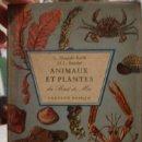 Libros antiguos: ANIMAUX ET PLANTES DU BORD DE MER FERNAND NATHAN - PORTAL DEL COL·LECCIONISTA *****. Lote 125936047
