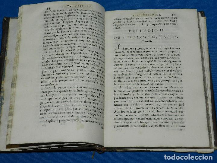 Alte Bücher: (MF) MIGUEL BARNADES - PRINCIPIOS DE BOTANICA SACADOS DE LOS MEJORES ESCRITORES, 1767 MADRID - Foto 2 - 125952059