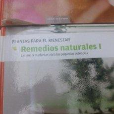 Libros antiguos: REMEDIOS NATURALES I - PLANTAS PARA EL BIENESTAR - C. DE LECTORES - TAPA DURA. Lote 126160547