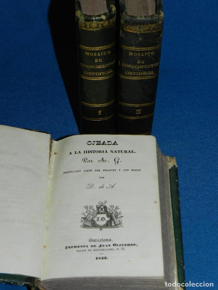 (MF) M. L .- MOSAICO DE CONOCIMIENTOS CINTIFICOS 1842 ASTRONOMIA , HISTORIA NATURAL , GEOGRAFIA (Libros Antiguos, Raros y Curiosos - Ciencias, Manuales y Oficios - Paleontología y Geología)
