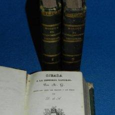 Libros antiguos: (MF) M. L .- MOSAICO DE CONOCIMIENTOS CINTIFICOS 1842 ASTRONOMIA , HISTORIA NATURAL , GEOGRAFIA. Lote 127303967