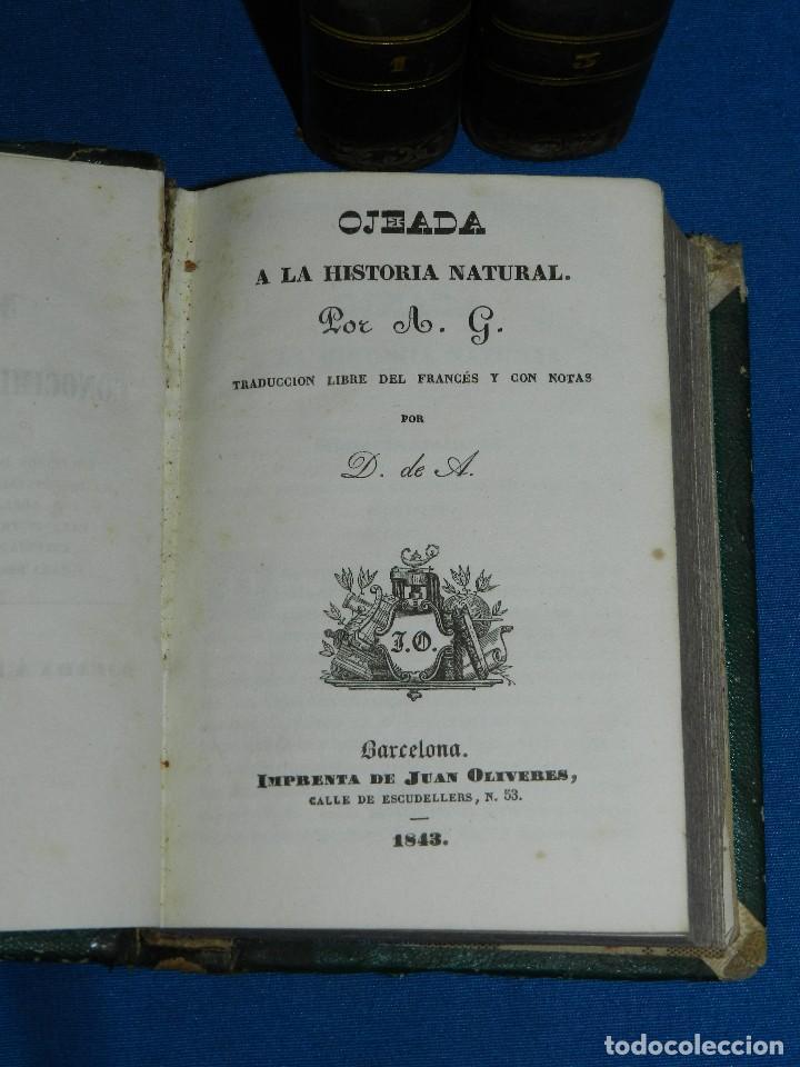 Libros antiguos: (MF) M. L .- MOSAICO DE CONOCIMIENTOS CINTIFICOS 1842 ASTRONOMIA , HISTORIA NATURAL , GEOGRAFIA - Foto 2 - 127303967