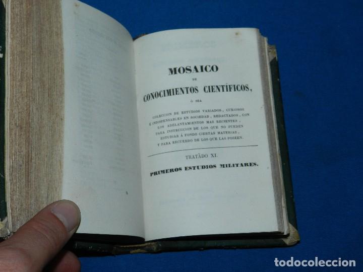 Libros antiguos: (MF) M. L .- MOSAICO DE CONOCIMIENTOS CINTIFICOS 1842 ASTRONOMIA , HISTORIA NATURAL , GEOGRAFIA - Foto 3 - 127303967