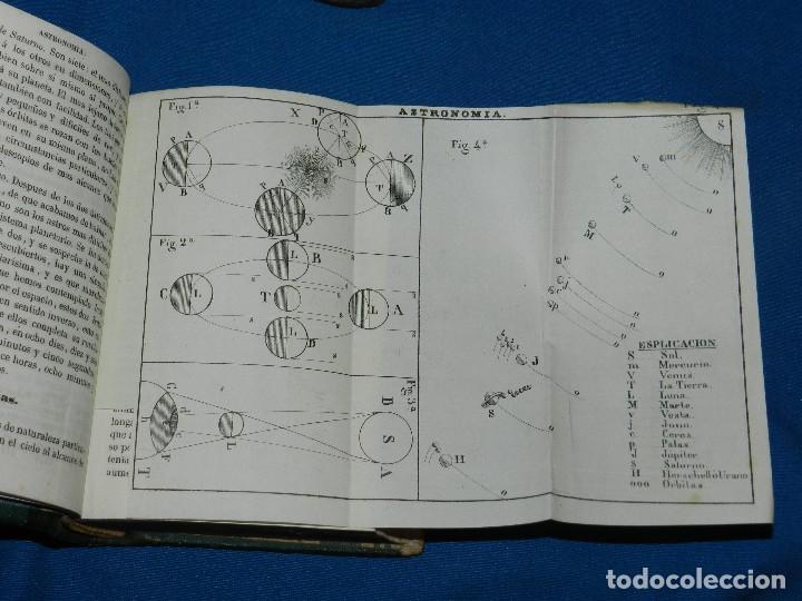 Libros antiguos: (MF) M. L .- MOSAICO DE CONOCIMIENTOS CINTIFICOS 1842 ASTRONOMIA , HISTORIA NATURAL , GEOGRAFIA - Foto 5 - 127303967