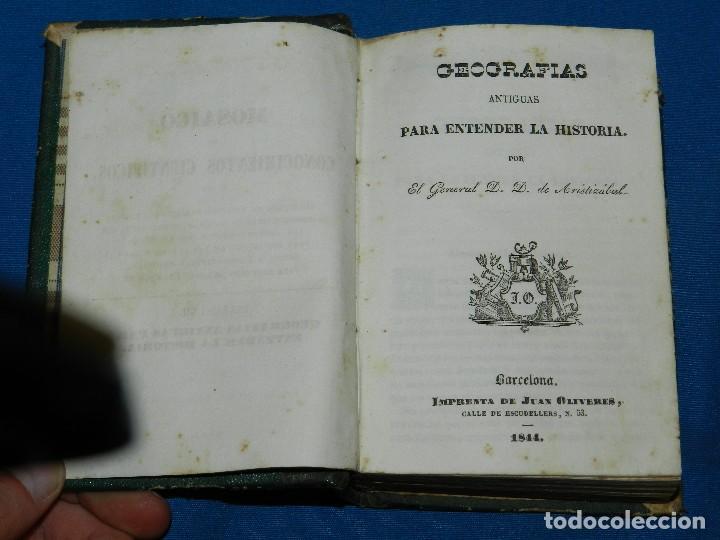 Libros antiguos: (MF) M. L .- MOSAICO DE CONOCIMIENTOS CINTIFICOS 1842 ASTRONOMIA , HISTORIA NATURAL , GEOGRAFIA - Foto 6 - 127303967