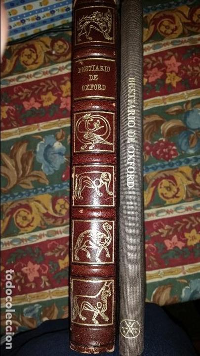 FACSÍMIL DE BESTIARIO DE OXFORD DE SIGLO XII, MANUSCRITO ASHMOLE 1511 DE LA BIBLIOTEA BODLEIA. (Libros Antiguos, Raros y Curiosos - Ciencias, Manuales y Oficios - Bilogía y Botánica)