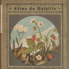 Libros antiguos: ATLAS DE BOLSILLO - PLANTAS MEDICINALES. Lote 128127699