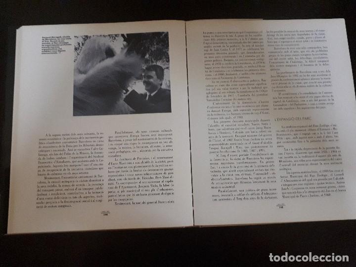 Libros antiguos: El parc zoològic de Barcelona. Cent anys dhistòria. - Foto 2 - 128323075