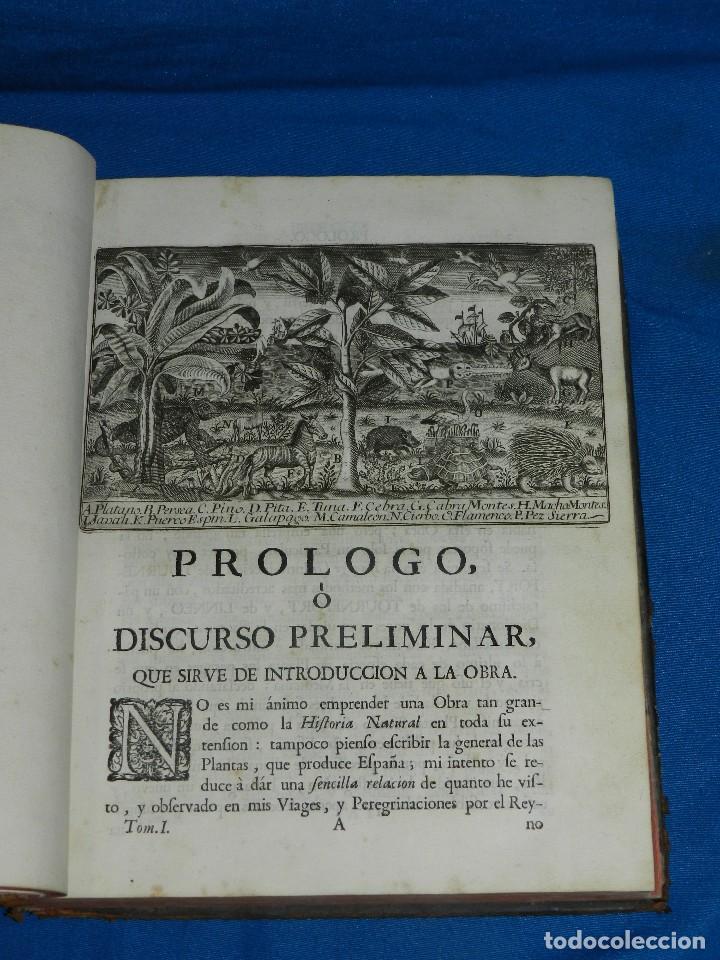 Libros antiguos: (MF) D JOSEPH QUER - FLORA ESPAÑOLA O HISTORIA DE LAS PLANTAS QUE SE CRIAN EN ESPAÑA , IBARRA 1762 - Foto 6 - 128422803