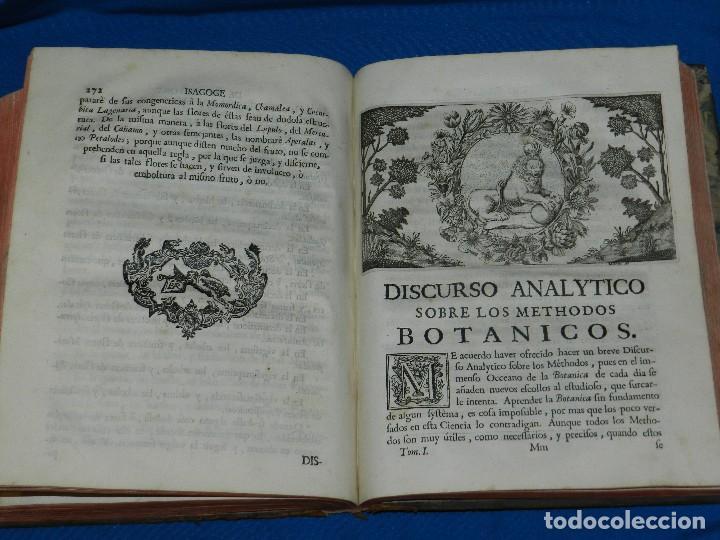 Libros antiguos: (MF) D JOSEPH QUER - FLORA ESPAÑOLA O HISTORIA DE LAS PLANTAS QUE SE CRIAN EN ESPAÑA , IBARRA 1762 - Foto 10 - 128422803
