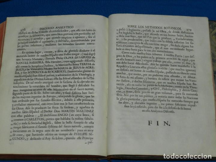 Libros antiguos: (MF) D JOSEPH QUER - FLORA ESPAÑOLA O HISTORIA DE LAS PLANTAS QUE SE CRIAN EN ESPAÑA , IBARRA 1762 - Foto 11 - 128422803
