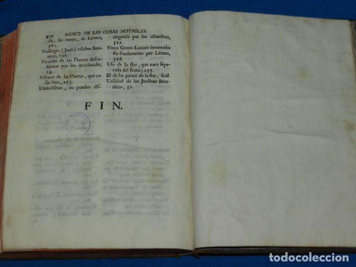 Libros antiguos: (MF) D JOSEPH QUER - FLORA ESPAÑOLA O HISTORIA DE LAS PLANTAS QUE SE CRIAN EN ESPAÑA , IBARRA 1762 - Foto 12 - 128422803