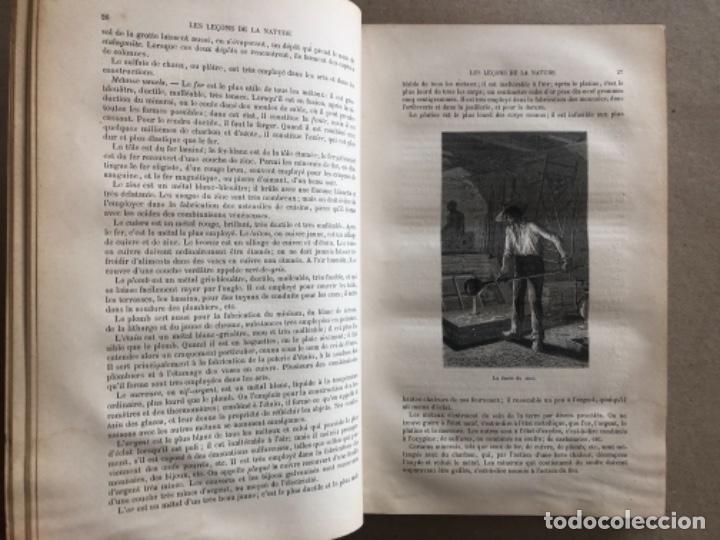 Libros antiguos: LES LEÇONS DE LA NATURE. POR LOUIS COUSIN-DESPRÉAUX. ED. TOURS, 1885. EN FRANCÉS. - Foto 4 - 128893839