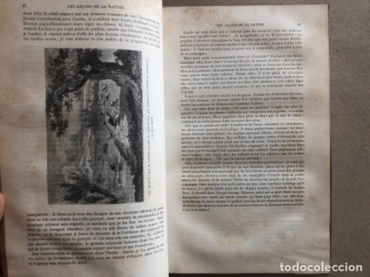 Libros antiguos: LES LEÇONS DE LA NATURE. POR LOUIS COUSIN-DESPRÉAUX. ED. TOURS, 1885. EN FRANCÉS. - Foto 5 - 128893839
