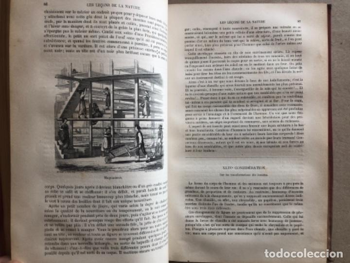 Libros antiguos: LES LEÇONS DE LA NATURE. POR LOUIS COUSIN-DESPRÉAUX. ED. TOURS, 1885. EN FRANCÉS. - Foto 6 - 128893839