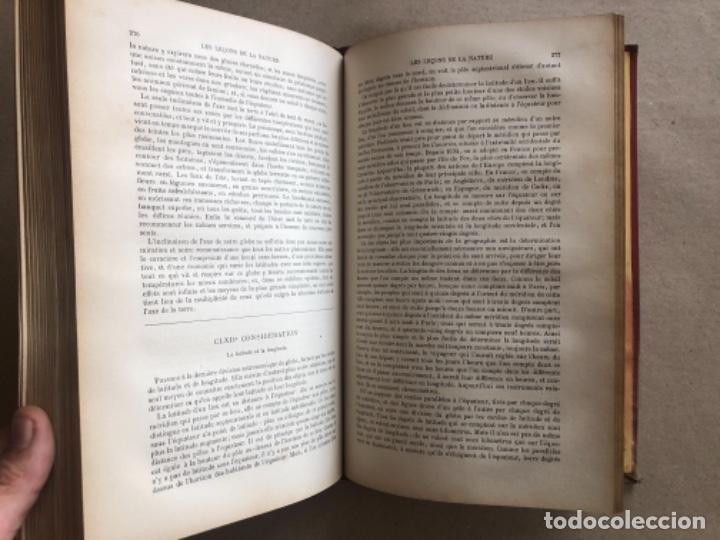 Libros antiguos: LES LEÇONS DE LA NATURE. POR LOUIS COUSIN-DESPRÉAUX. ED. TOURS, 1885. EN FRANCÉS. - Foto 9 - 128893839