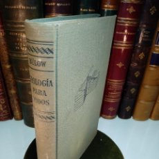 Libros antiguos: GEOLOGÍA PARA TODOS - INICIACIÓN TEÓRICA Y PRÁCTICA EN LA CIENCIA DE LA TIERRA - DR. JOAQUÍN GÓMEZ. Lote 129246295